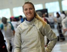 Николаевская саблистка завоевала «бронзу» на чемпионате Европы по фехтованию
