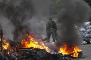 В результате минометного обстрела боевиками Счастья погибла 1 женщина и ранены 16 местных жителей
