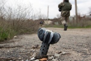 За сутки в зоне АТО был ранен один украинский военнослужащий