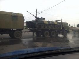 Одесситы обеспокоены большим количеством военной техники в городе