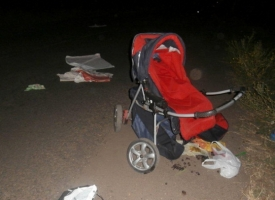 На Николаевщине мотоциклист сбил женщину с двумя детьми и скрылся с места происшествия - 4-летняя девочка погибла