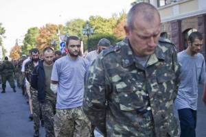 Из плена боевиков освободили пять украинских военных