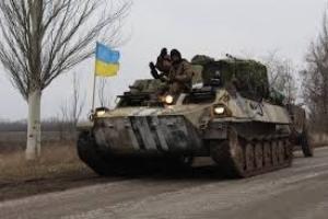 В районе Счастья украинские военные отбили атаку боевиков