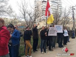 Одесские активисты планируют снос многоэтажного дома