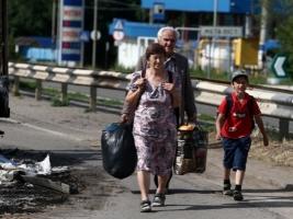 В зоне АТО удалось создать временные гуманитарные коридоры