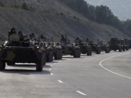 Российские танки подошли к границе Херсонской области