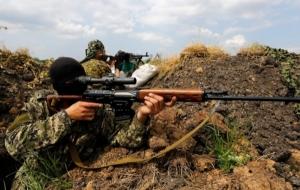 В Зайцево группа боевиков, переодетых под украинских военных, обстреляла жилые кварталы, - штаб