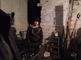 Одесские активисты накрыли нелегальный пункт приема металла
