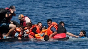 У берегов Греции перевернулась лодка с беженцами