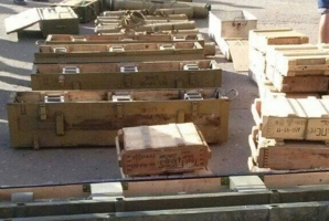В Херсонской области взорвался склад с боеприпасами (дополнено)