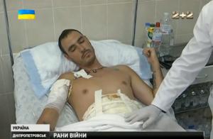 В Днепропетровске прооперировали тяжелораненого 28-летнего бойца из Николаева