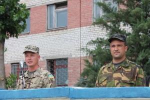 Около тридцати военнослужащих Николаевского гарнизона приняли присягу на верность украинскому народу