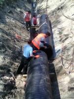 На Николаевщине потратили 9 млн. грн. бюджетных средств на установку некачественных канализационных труб