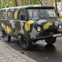 Николаевские волонтеры реанимировали военную