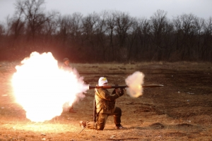 За ночь террористы 20 раз открывали огонь по украинским военным