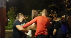 В Николаеве пьяные дебоширы при попустительстве полиции избили таксиста и нескольких прохожих
