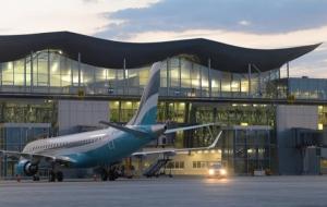 В Борисполе пьяный пассажир угрожал взорвать самолет