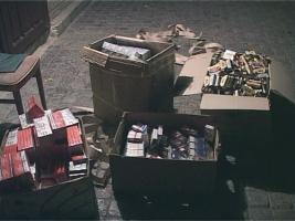 У жителя Одесской области дома обнаружили цех с контрабандными сигаретами и алкоголем