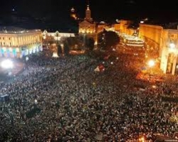 Власть готовится ввести чрезвычайное положение в центре Киева