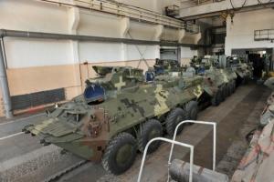 Николаевский бронетанковый завод передал 10 БТРов пограничникам