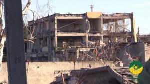 Минобороны показало последствия пожара в Сватово (Видео)