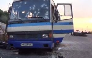 Под Донецком расстрелян автобус Правого сектора - семь человек погибли – СМИ