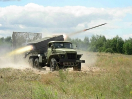 За ночь боевики 18 раз нарушили режим прекращения огня - штаб АТО
