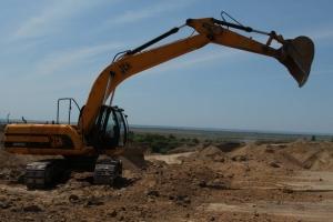 Под Одессой происходит масштабная незаконная добыча песка