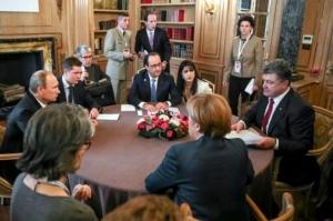 Стало известно, что потребует Порошенко от России на встрече «нормандской четверки»