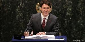 Премьер-министр Канады собирается посетить Украину
