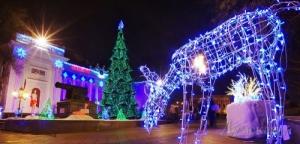 Одесситы встретят 2015 год с прошлогодней елкой