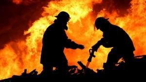 В Николаевской области во время пожара в доме погиб мужчина