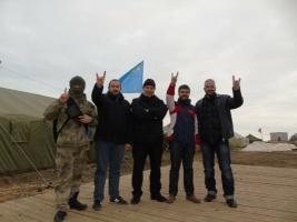 К блокаде Крыма подключились турецкие ультраправые националисты