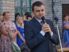 Вадим Мериков на День знаний посетил Первомайскую общеобразовательную школу