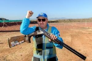 Знаменосец сборной Украины стрелок Николай Мильчев из Одессы успешно выступил на олимпмаде в Рио