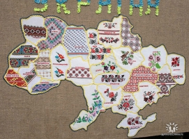 Завтра николаевцы могут приобщиться к вышиванию карты Украины