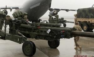 В Латвии приземлились три военных самолета с американскими солдатами и оружием