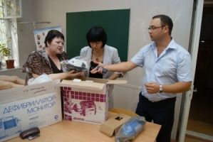 На Николаевщине станции скорой помощи пополнились новым оборудованием