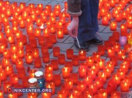 Одесситы зажгли свечи в память о жервах Голодомора