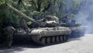 Боевики организовывали две крупные базы боевой техники на приморском направлении - ИС