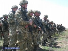 На учениях в Широком Лане сформирована бригада морской пехоты ВС Украины