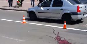 В Одессе водитель насмерть сбил женщину на глазах у ее сына и скрылся