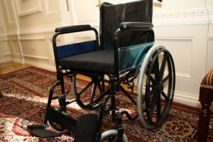 Одесская мэрия получила инвалидные коляски из Англии