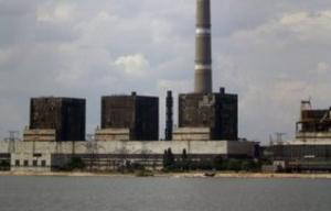 Углегорская ТЭС в Донецкой области остановила работу