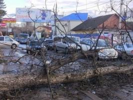 Из-за непогоды обесточено около 150 населенных пунктов в девяти областях Украины