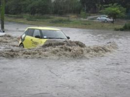 В Одессе стихия затопила дороги