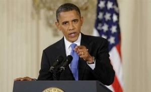 Обама призвал Путина вывести войска из Украины