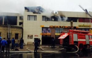 Трое одесситов получили ожоги во время пожара в ночном клубе