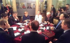 Порошенко и лидеры ЕС начали встречу в Милане