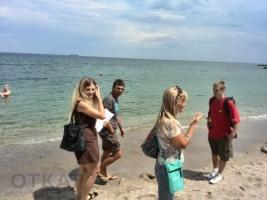 Одесский Евромайдан уже вторые выходные подряд ходит по пляжам